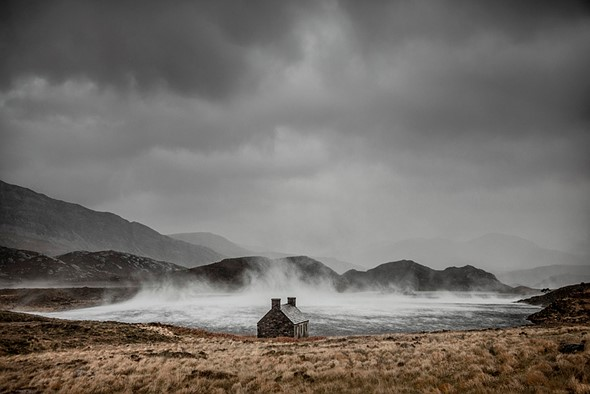 Adult Classic view - Winner Dougie Cunningham - Shelter from the Storm, Loch Stack, Sutherland, Scotland