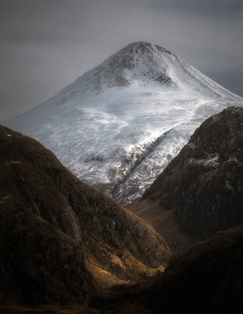 Adult Classic view - Highly commended Scott Robertson - Binnein Beag through Steall, Scottish Highlands