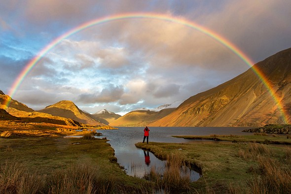 The GREAT Britain #OMGB Award - Winner Mark Gilligan - Finding Gold, Wast Water, Cumbria, England