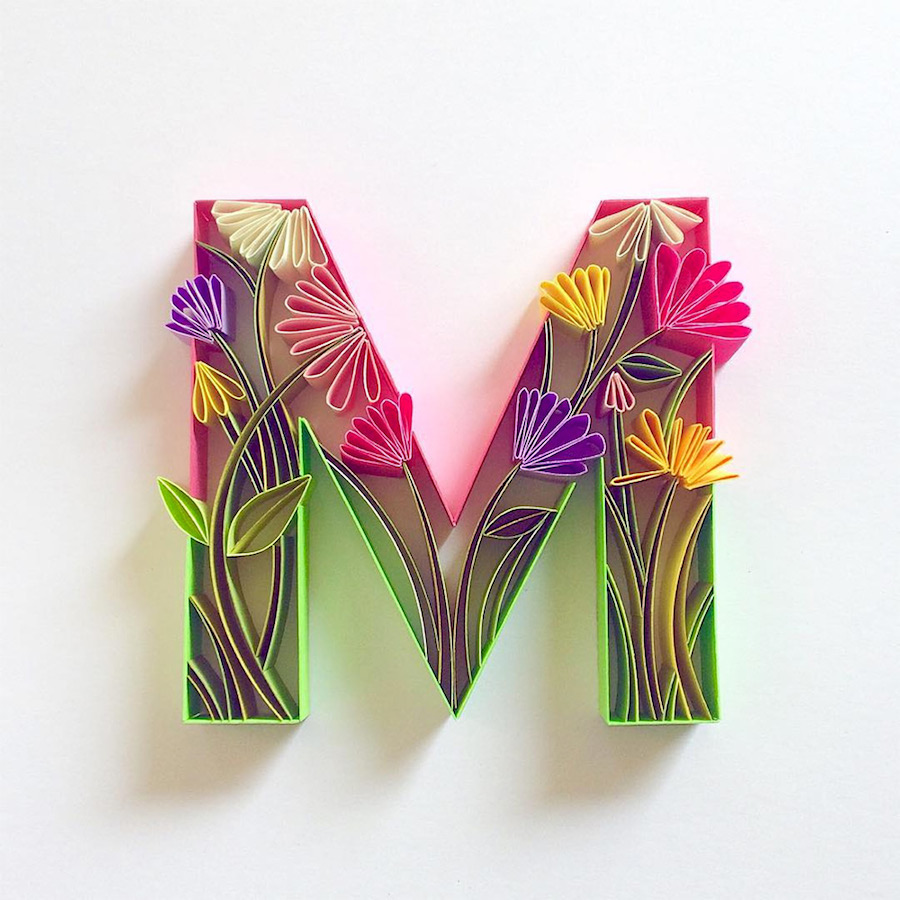 creative-and-multicolored-paper-typography-by-sabeena-karnik-7